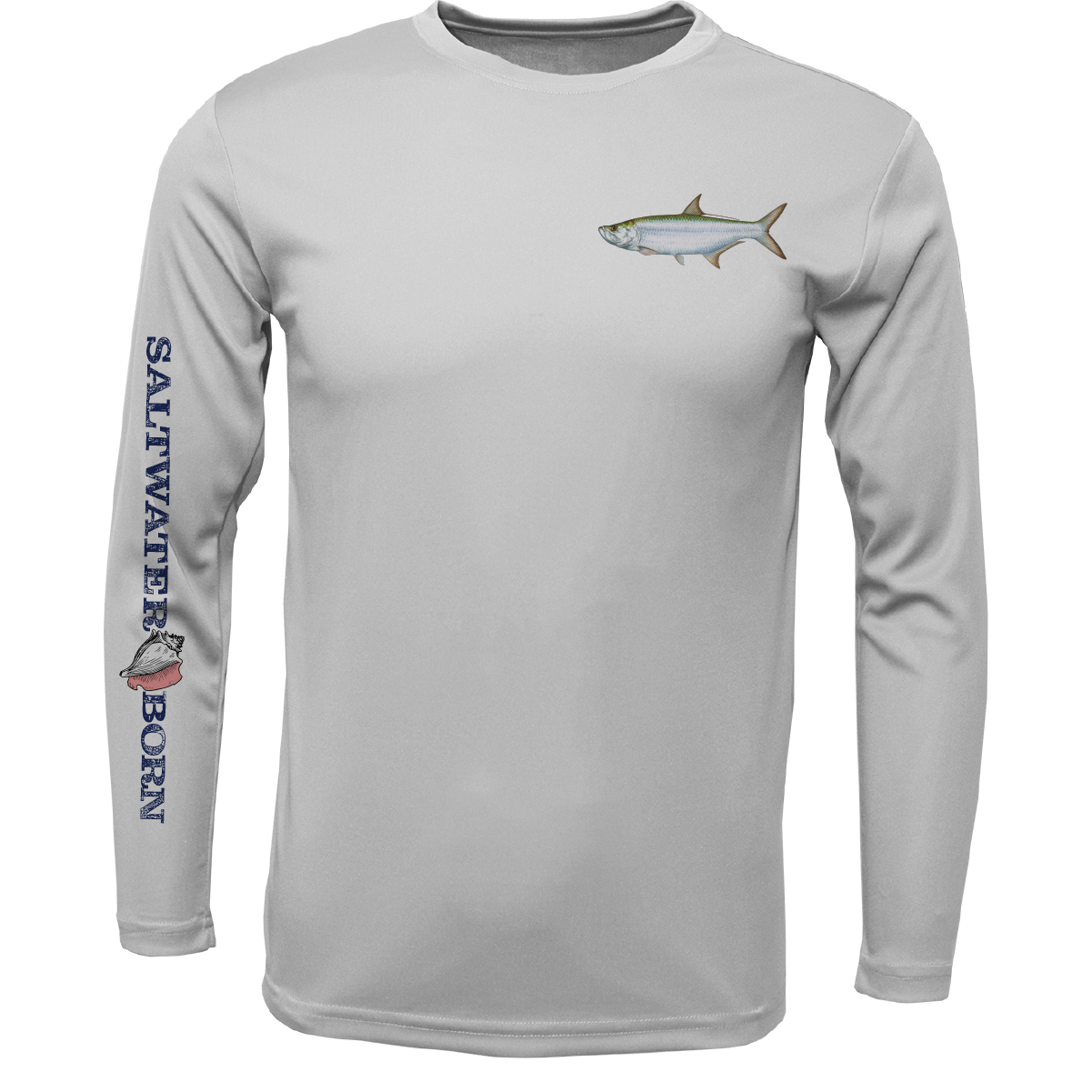Clean Tarpon Long Sleeve UPF 50+ Dry-Fit Shirt