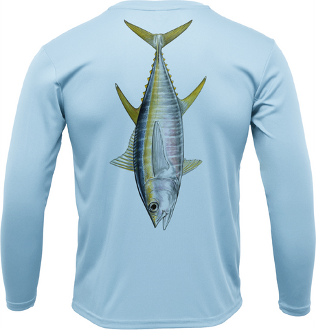 Siesta Key Tuna Long Sleeve UPF 50+ Dry-Fit Shirt
