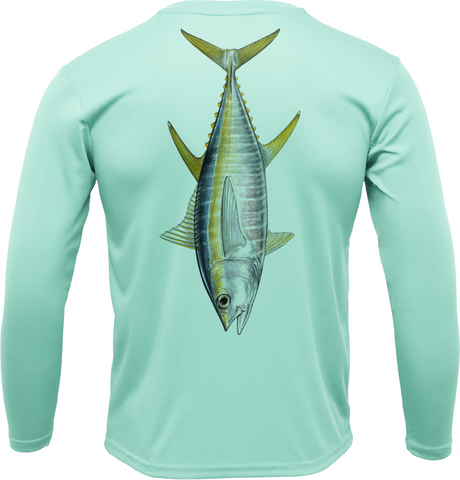 USA Tuna Long Sleeve UPF 50+ Dry-Fit Shirt
