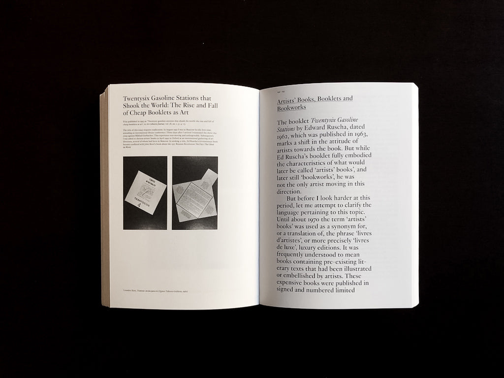 Booktrek: Selected Essays on Artists' Books (1972-2010)