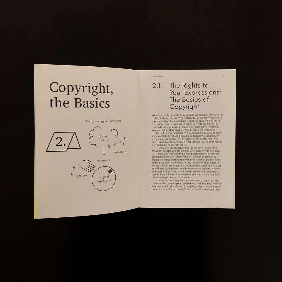 Copy this Book - an artist's guide to copyright