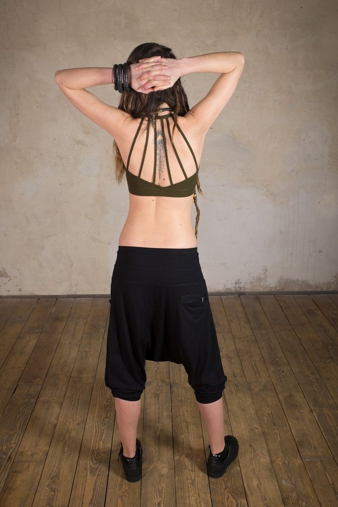 Rave Top | perfect festiva top for the summer season | Yoga Top | Cyberpunk Clothing |  Tribal Top | Top Frame Army