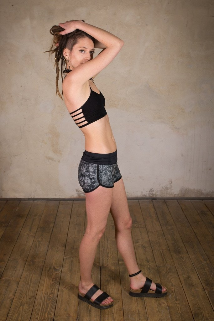 Pixie Shorts | Booty Shorts | Hot Pants and Gym Shorts | Surf Shorts | Gym Shorts | Board Shorts Alice Grey
