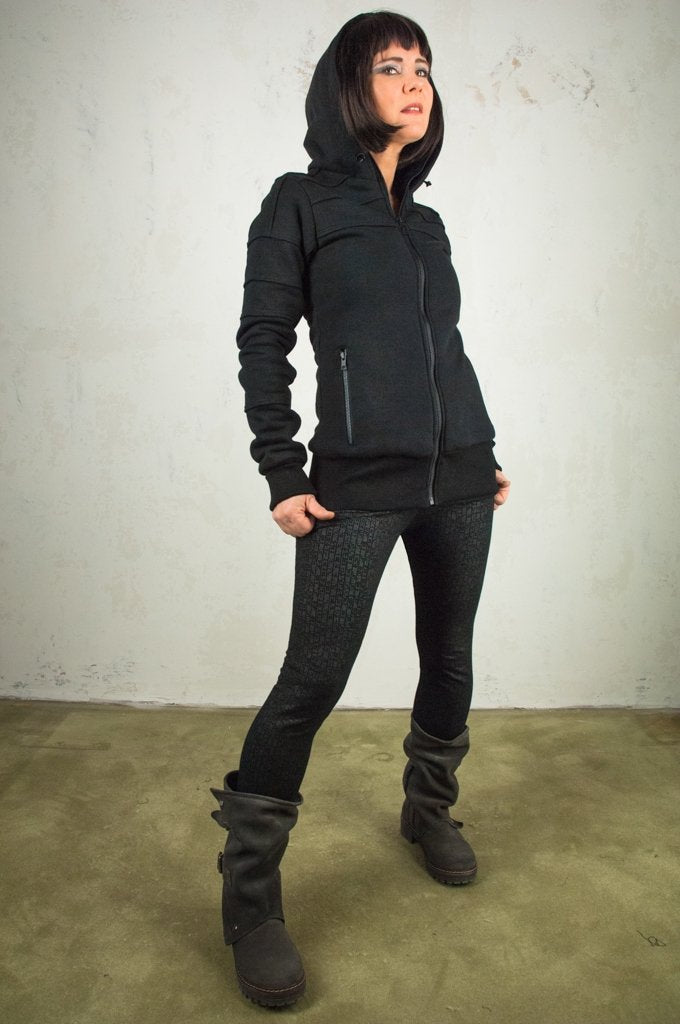 Nipol Women Jacket Black