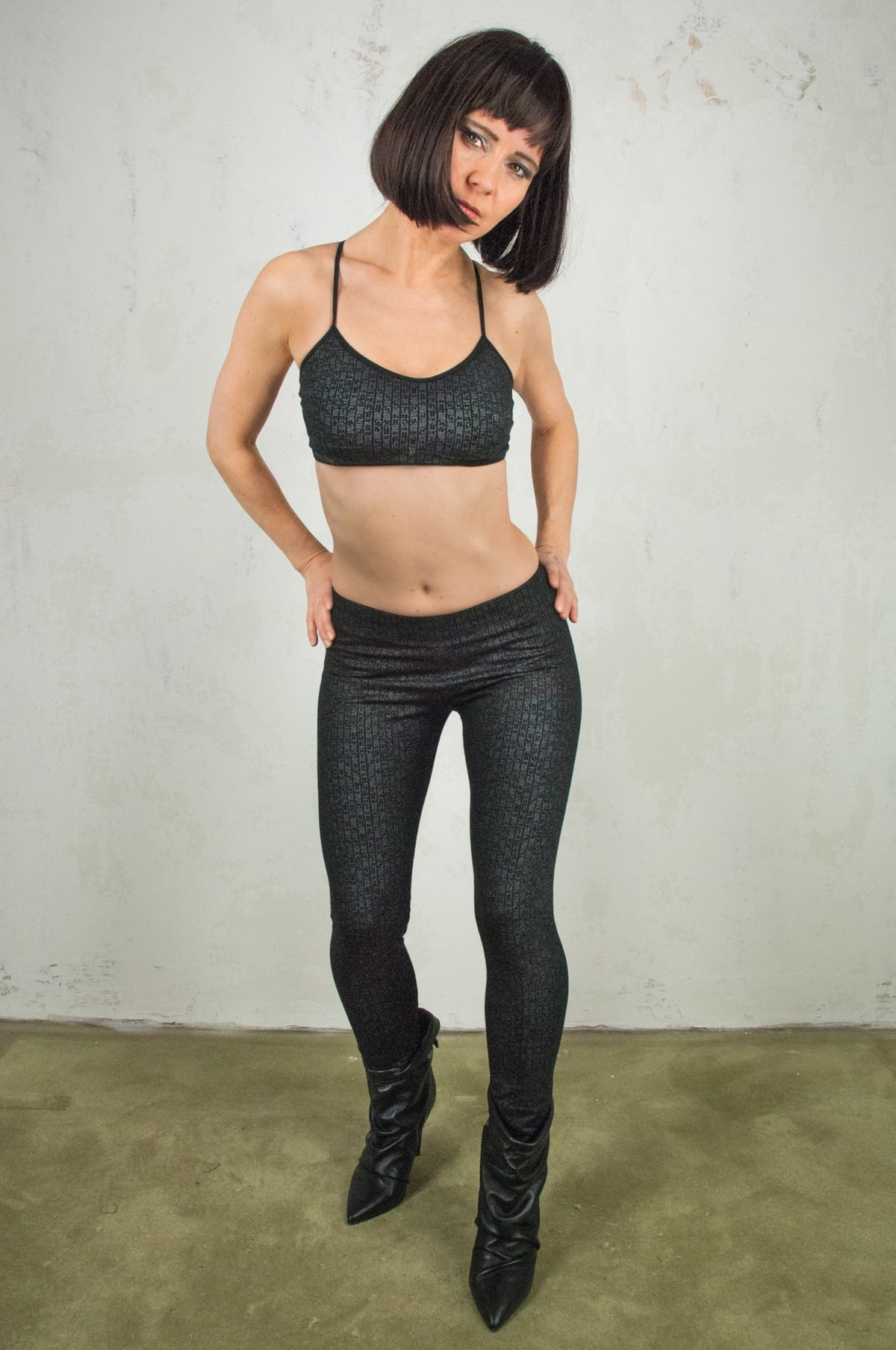 Matrix Leggings Black