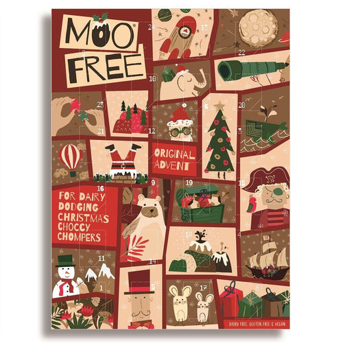 Advent Calendar: Dairy free, vegan milk chocolate advent calendar - Simply Vegan Sweets