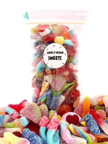 BLACK FRIDAY CHRISTMAS WORLD'S BEST VEGAN PICK AND MIX SWEETS - Simply Vegan Sweets
