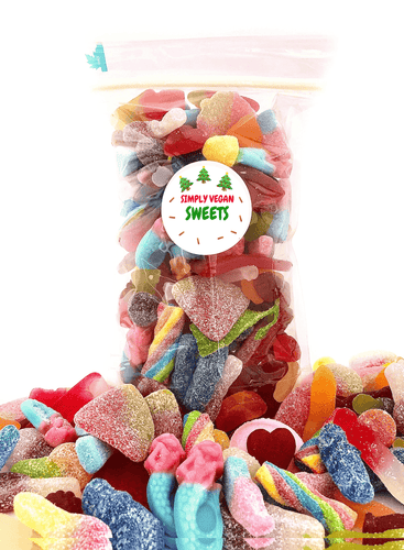 CHRISTMAS WORLD'S BEST VEGAN PICK AND MIX SWEETS.