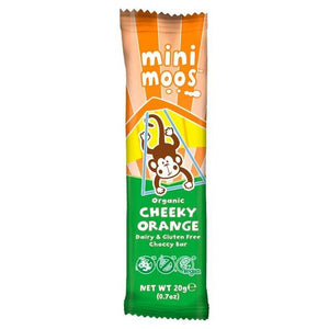 Moo Free Mini Moos Cheeky Orange Chocolate Bar 20g - Simply Vegan Sweets