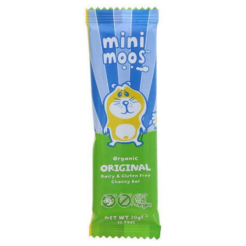 Moo Free Mini Moos Original Chocolate Bar 20g - Simply Vegan Sweets