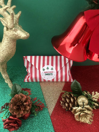 VEGAN CHRISTMAS RENAISSANCE CANDY BAG.
