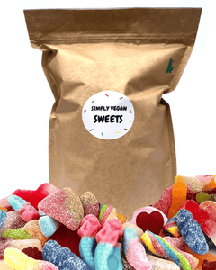 VEGAN SUGAR BOMB BAG - Simply Vegan Sweets