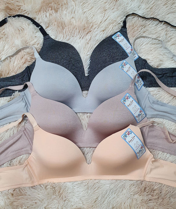 Seamless Padded Non Wired Bra FREE SHIPPING!