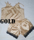 Lace Satin Sleepwear