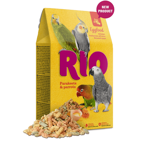 RIO- Eggfood For Parakeets & Parrots 250g