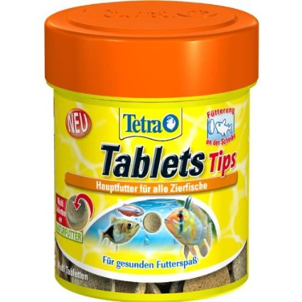 Tetra - Food For Fish Tablets Tips 25g-66ml