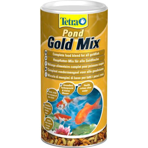 Tetra - Food For Fish Pond Goldfish Mix 140g-1L - zoofast-shop