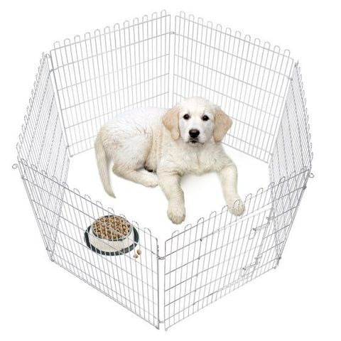 Karlie - Freereserve Zinc Plated Exercise Pen With Door