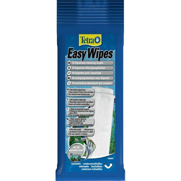 Tetra - Cleaning Wipes For Aquariums Easywipes 10pcs