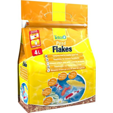 Tetra - Food For Fish Pond Flakes 800g-4L - zoofast-shop