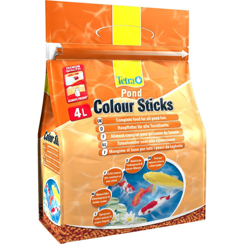 Tetra - Food For Fish Pond Colour Sticks 750g-4L - zoofast-shop