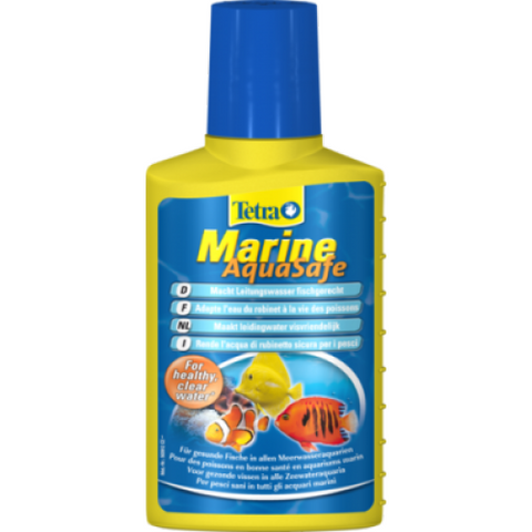 Tetra - Liquid For Aquariums Marine Aquasafe 250ml - zoofast-shop