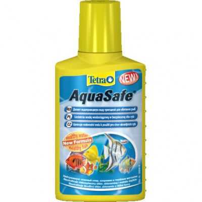 Tetra - Liquid For Aquariums Aquasafe For Tap Water 50ml
