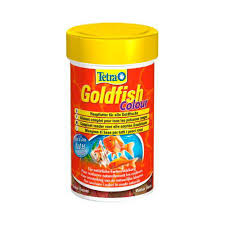 Tetra - Food For Fish Goldfish Colour Flakes 20g-100ml
