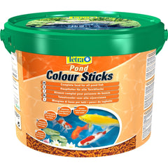 Tetra - Food For Fish Pond Colour Sticks 1.9kg-10L - zoofast-shop