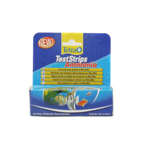 Tetra - Test Strips For Aquariums Ammonia 25pcs