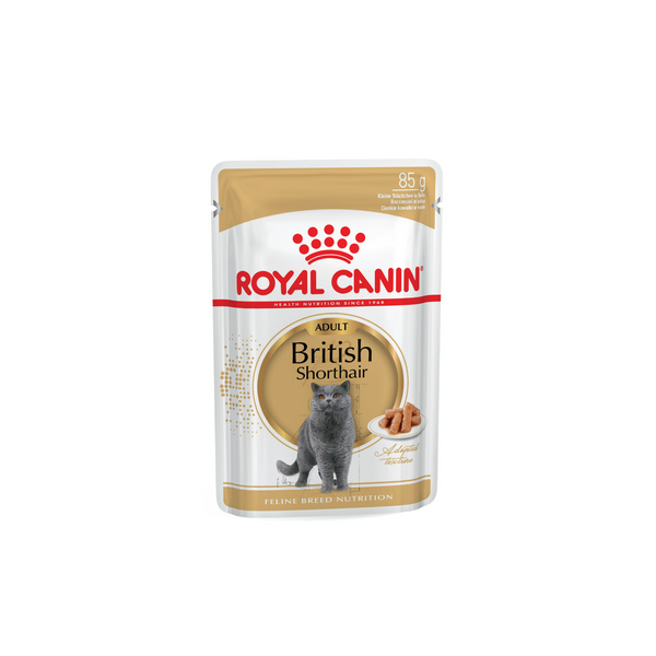 Royal Canin - British Shorthair Adult Pouch 85g