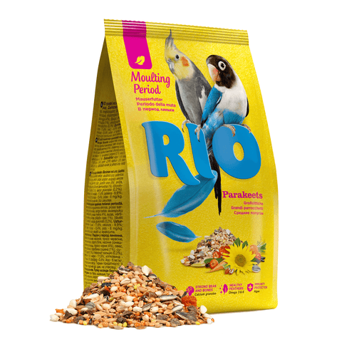 RIO- Moulting Period Feed For Big Parakeets 1kg