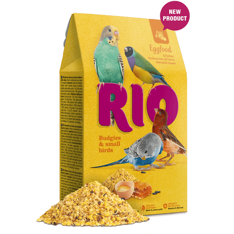 RIO- Eggfood for Budgies & Small Birds 250g