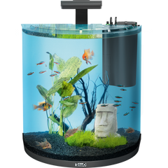 Tetra - Aquarium Aqua Art Exp. Line Comp. Set Black - zoofast-shop