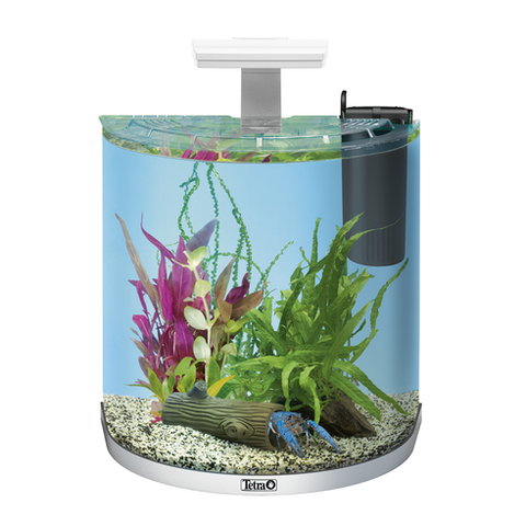 Tetra - Aquarium Aqua Art Exp. Led Crayfish Comp. Set White 30L - zoofast-shop