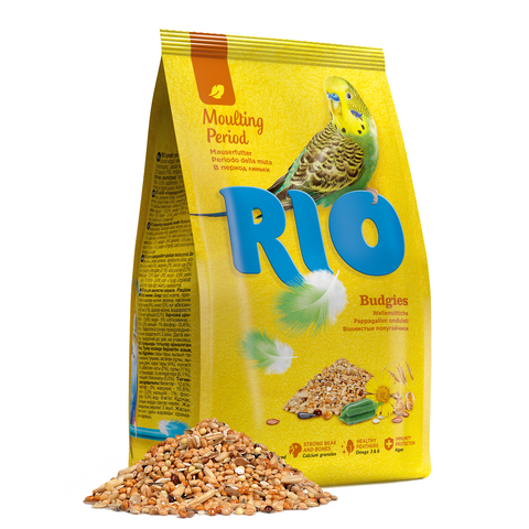 RIO- Moulting Period Feed For Budgies 1kg