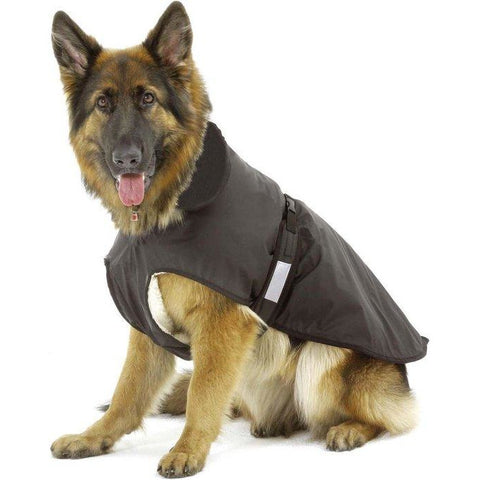 Karlie - Dog Coat Outdoor 2in1 Black Fleece