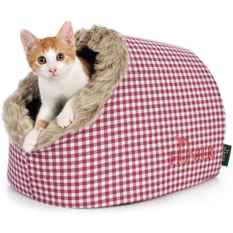 Hunter - Bed-Cave For Cat Astana Checked 38x40x27cm