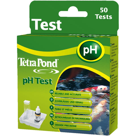 Tetra - Test Ponds Ph 50pcs - zoofast-shop