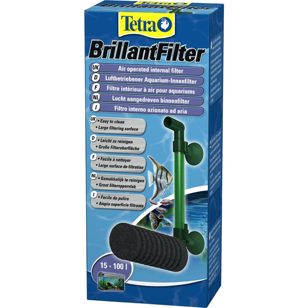 Tetra - Filter For Aquariums Brilliant With Foam Cartridge