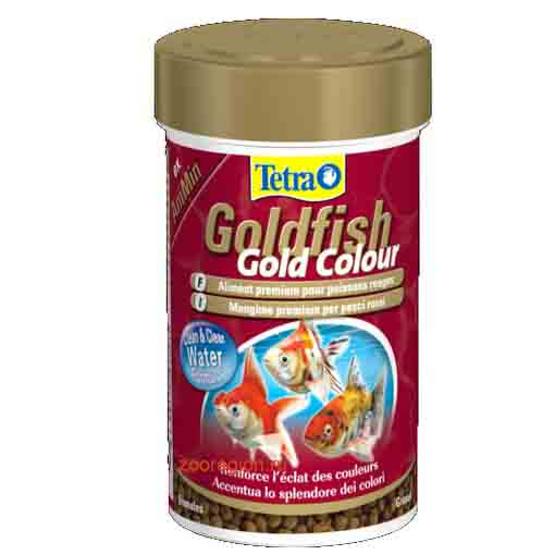 Tetra - Food For Fish Goldfish Gold Colour 75g-250ml