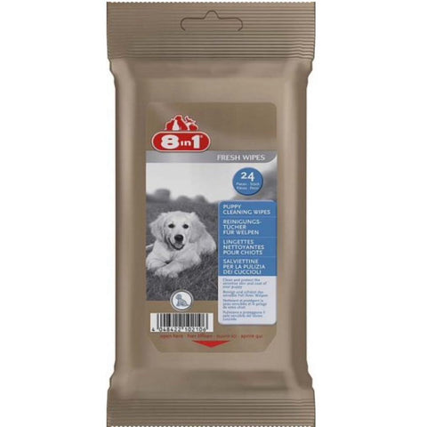 8in1 - Cleaning Wipes For Dogs 24pcs