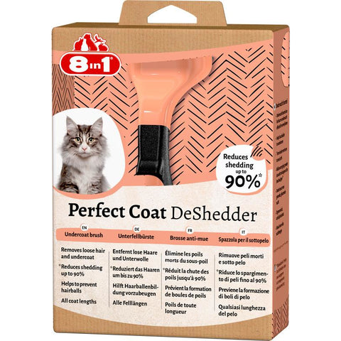 8in1 - Perfect Coat Deshedder Cat