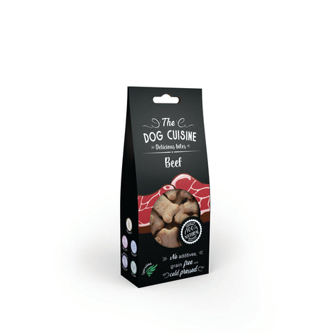The Dog Cuisine Bites – Beef & Spiroulina 100g
