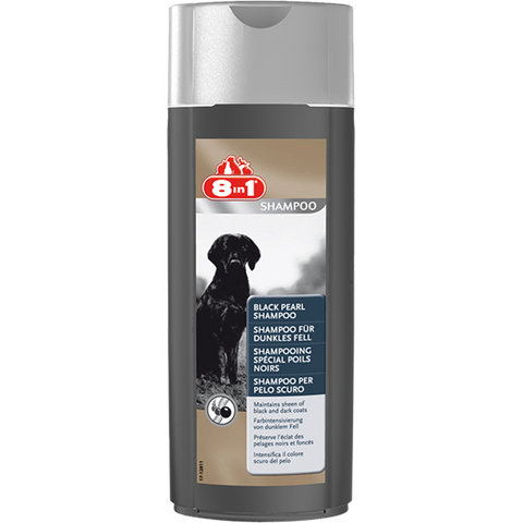 8in1 - Shampoo For Dogs Black Pearl 250ml - zoofast-shop