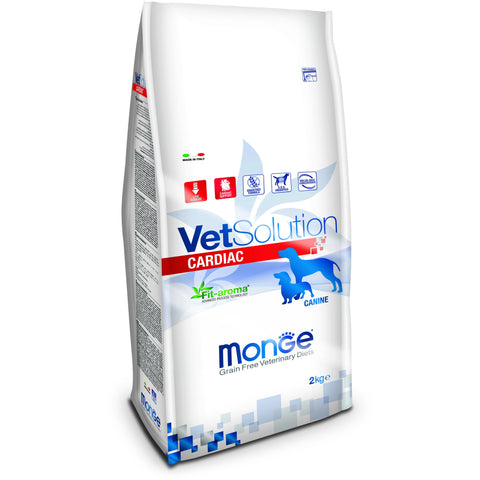 MONGE -  VetSolution Dog Cardiac 2 & 12Kg