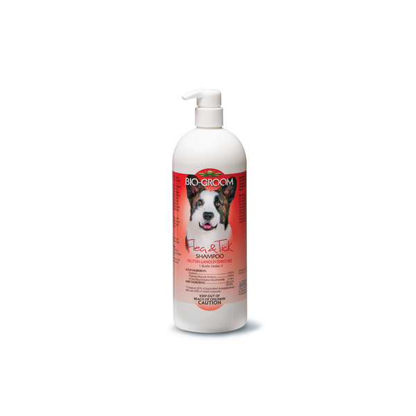 Bio Groom - Shampoo For Dogs Flea & Tick 946ml