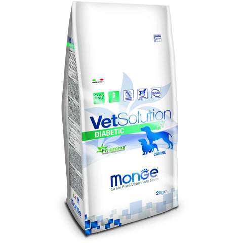 MONGE -  VetSolution Dog Diabetic 2 & 12Kg