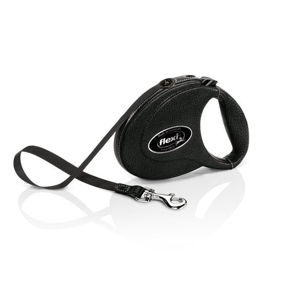 Flexi - Leash Tape Leather 5m