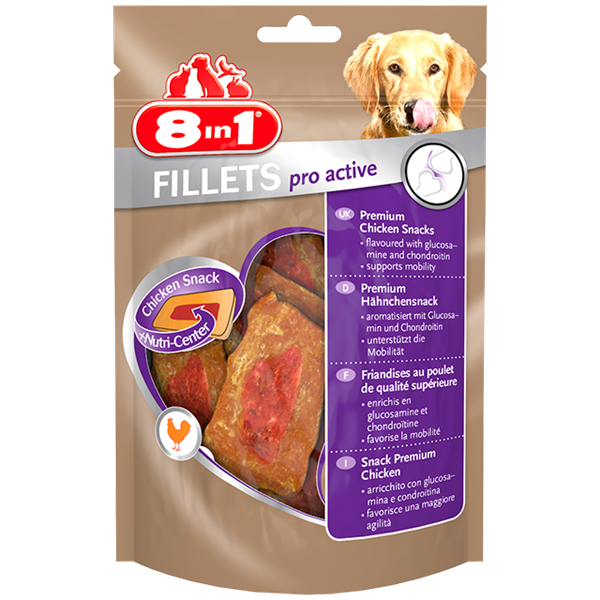 8in1 - Fillets Pro Active Chicken S 80g
